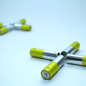 Photograph Batteries by Lukas Bachschwell
