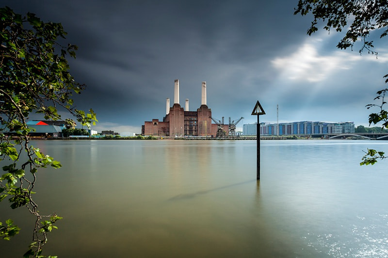 Photograph Storm light Battersea power station by Terry Gibbins on 500px