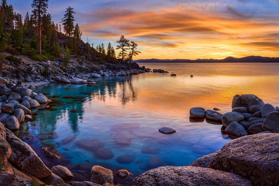 Photograph Tahoe Colors by Andrew Cirrincione on 500px