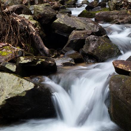 Amicalola Falls Coming Down