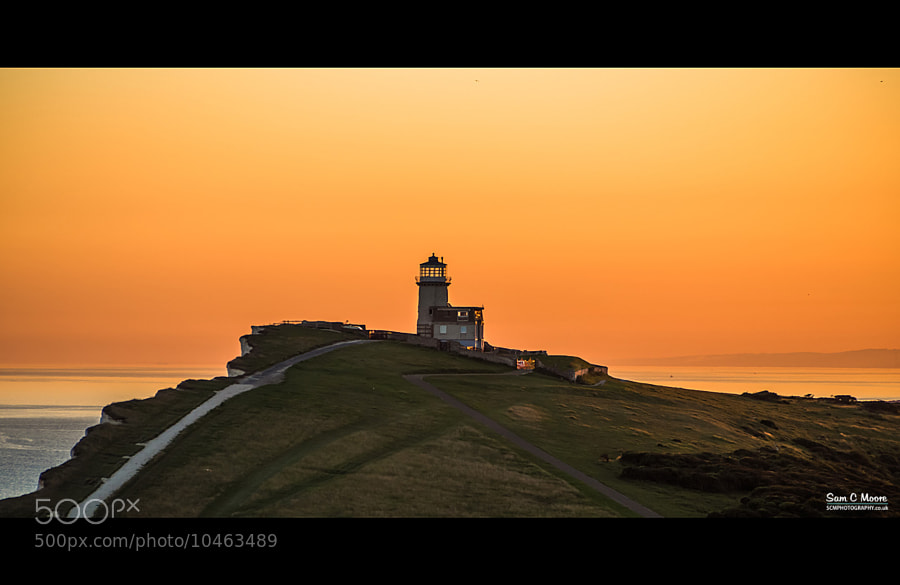 Photograph Clifftop Lighthouse by Sam Moore on 500px