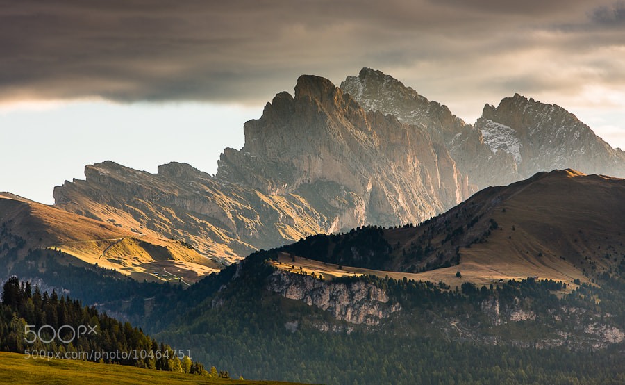"""<a href=""""http://www.hanskrusephotography.com/Workshops/Dolomites-Workshop-Oct-8-12-12/18012376_JfTs4d#!i=1962648679&k=gz2PSfP&lb=1&s=A"""">See a larger version here</a>  This photo was taken preparing a photo workshop that I led in the Dolomites in October 2010."""