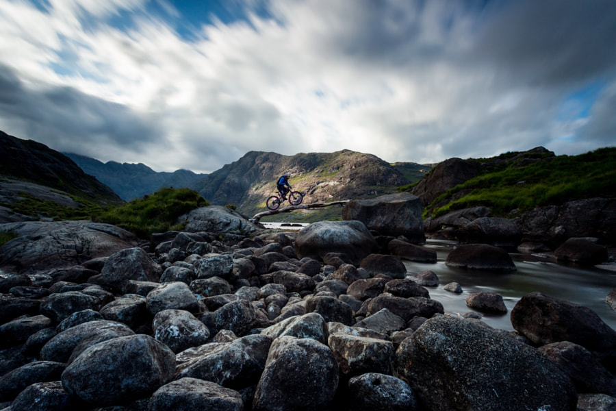 Photograph Danny MacAskill at Loch Coruisk by Chris  Prescott on 500px