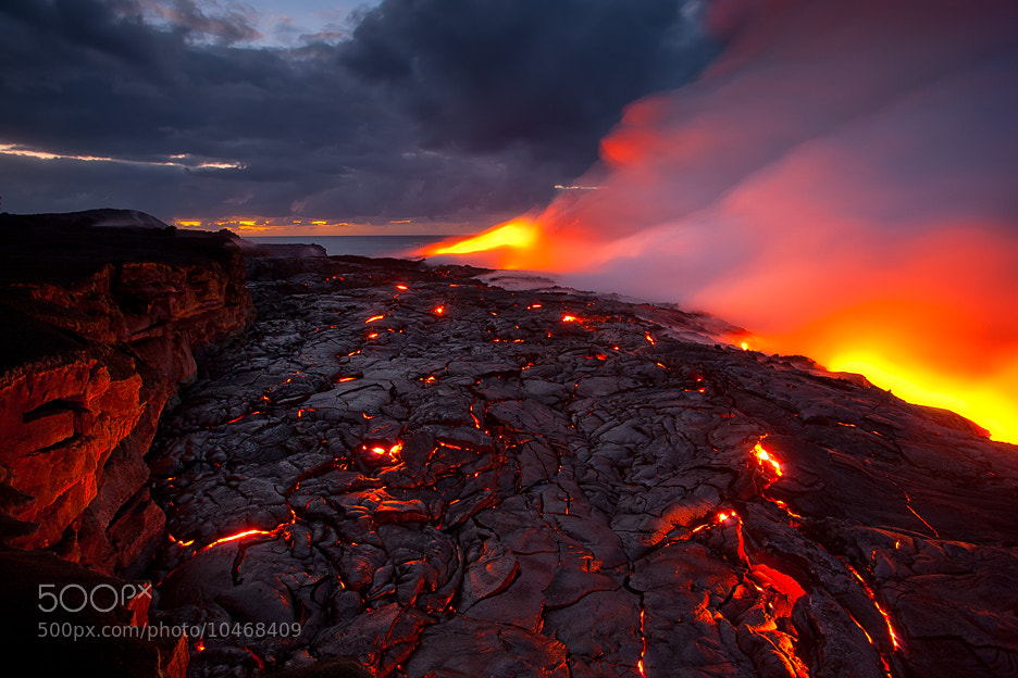 Photograph Lava Delta by Tom Kualii on 500px
