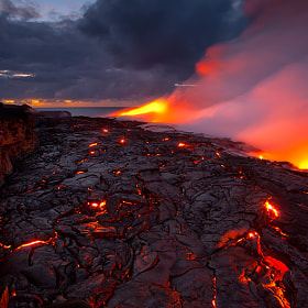 Lava Delta by Tom Kualii on 500px.com