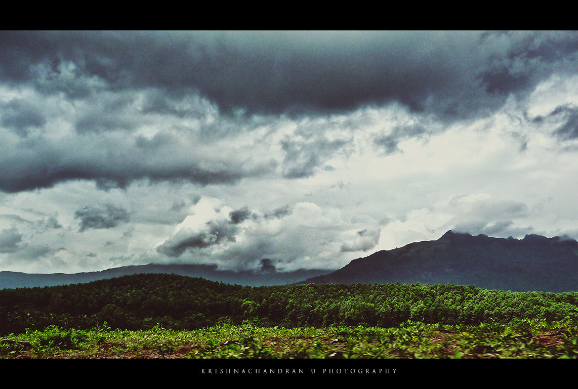 Photograph Across the mountains.. by Krishnachandran U on 500px