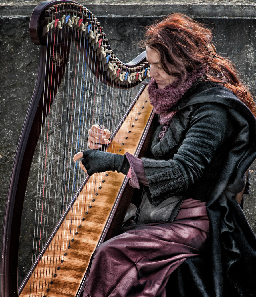 Photograph Harp Lady by Bob Kelly on 500px