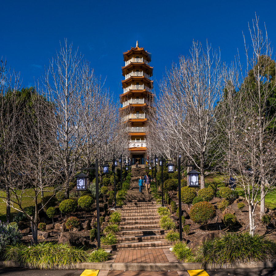Photograph Nan Tien Pagoda, Wollongong Australia by Travis Chau on 500px
