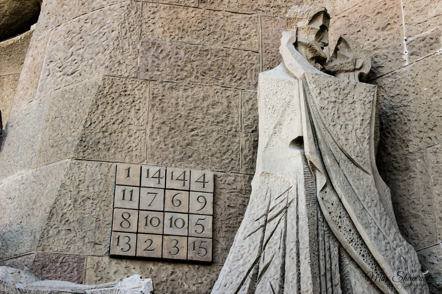 Image result for sagrada familia, magic square