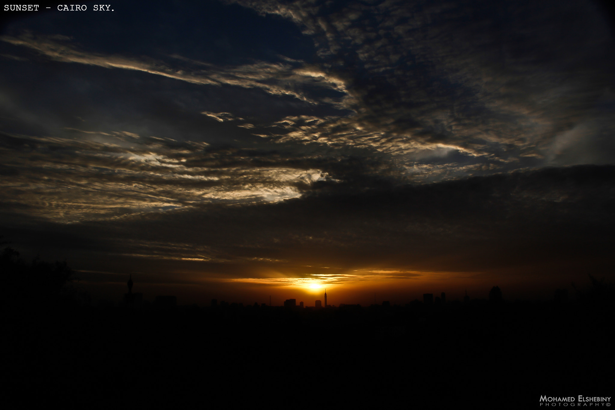 Photograph SUNSET -  CAIRO SKY. by Mohamed Elshebiny on 500px