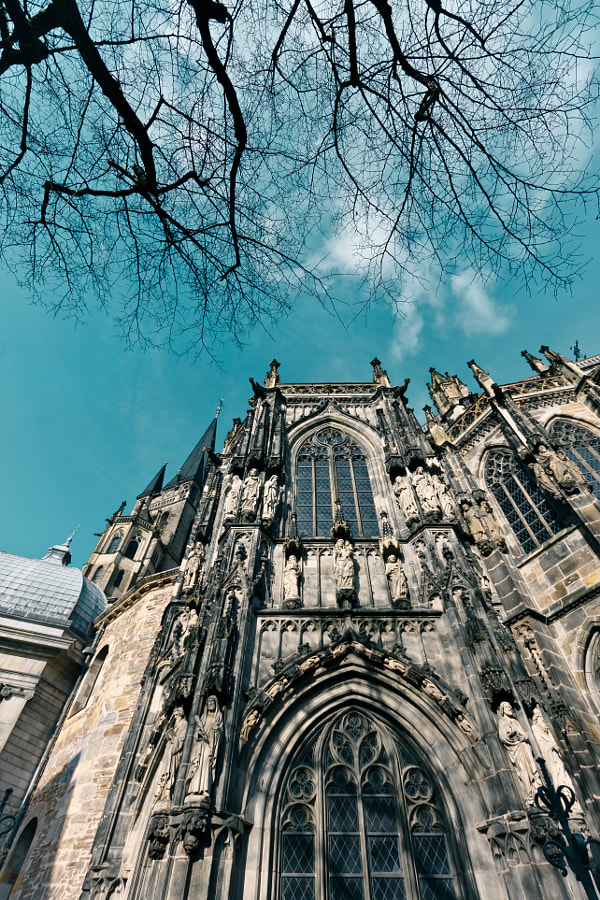 Aachen Cathedral Vertical
