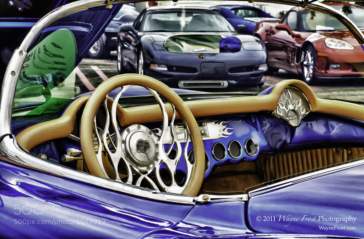 Photograph Blue Chrome by Wayne Frost on 500px
