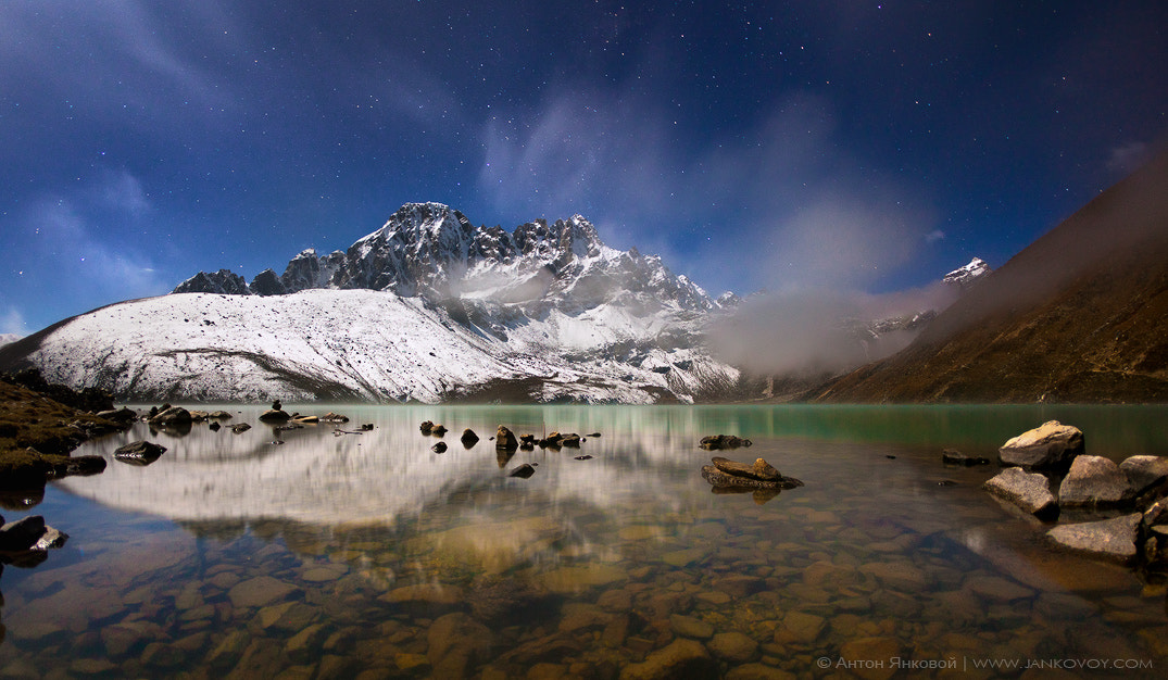 Photograph Gokyo Lake (4,750 m) by Anton Jankovoy on 500px