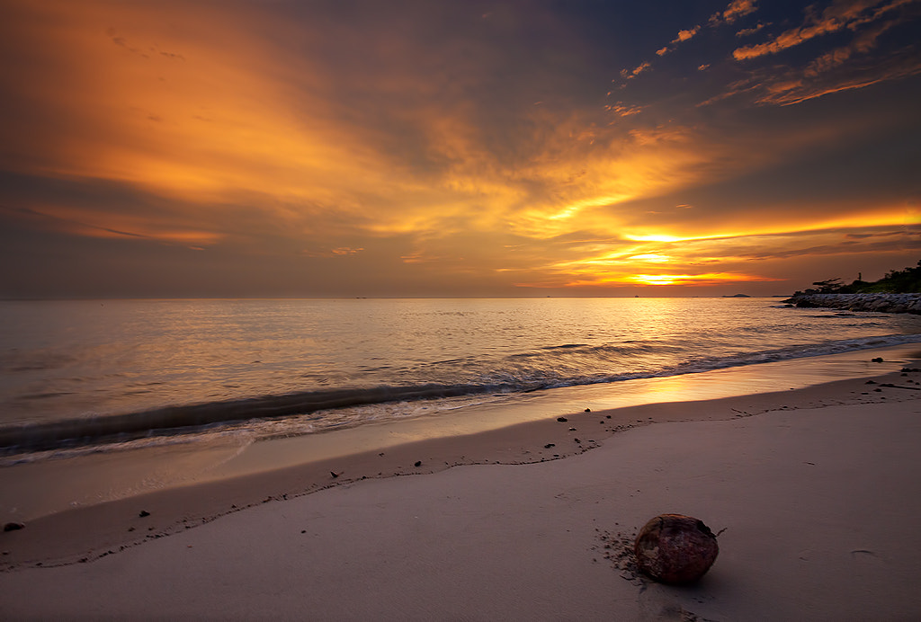 Photograph Tropical Island Sunset by aku madie on 500px