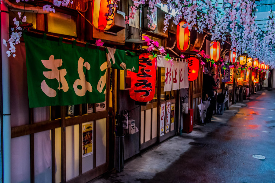 Photograph Food Alley in Japan by Takaaki Satoh on 500px