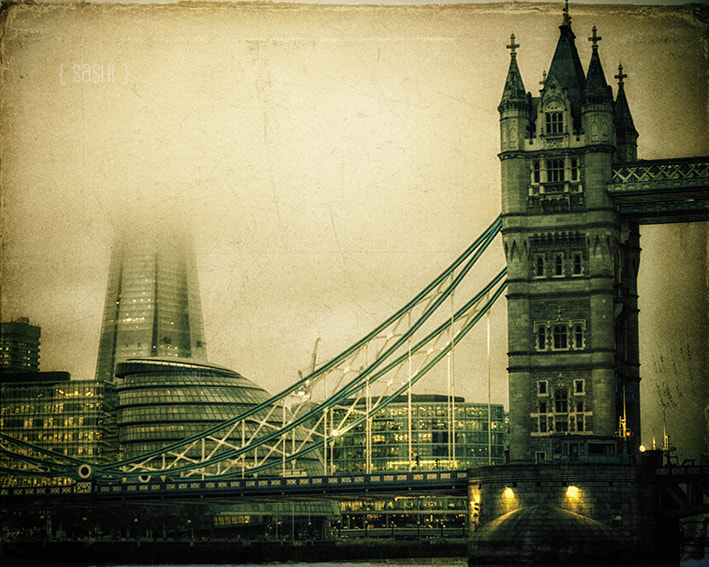 Photograph The Tower and the Shard by Alex Arnaoudov on 500px