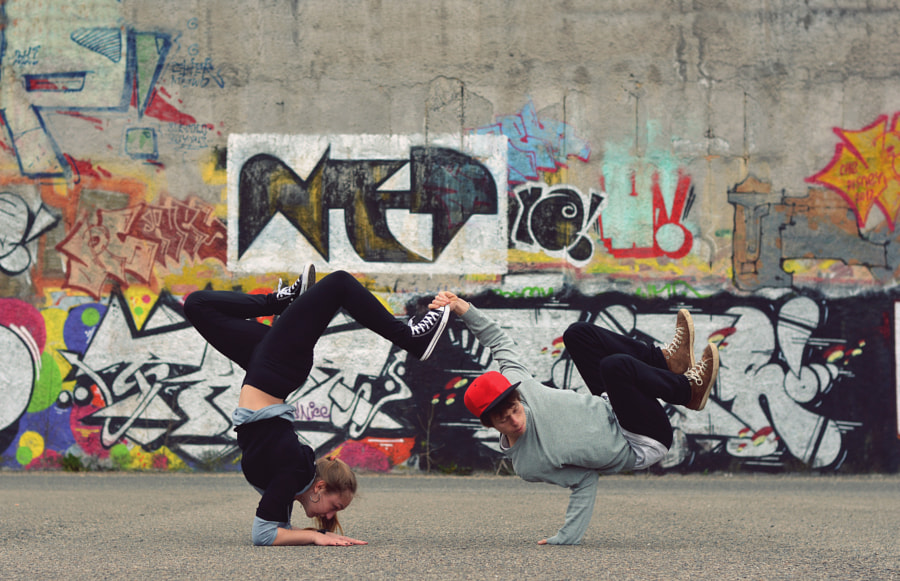 Breakdance by David Charouz on 500px.com