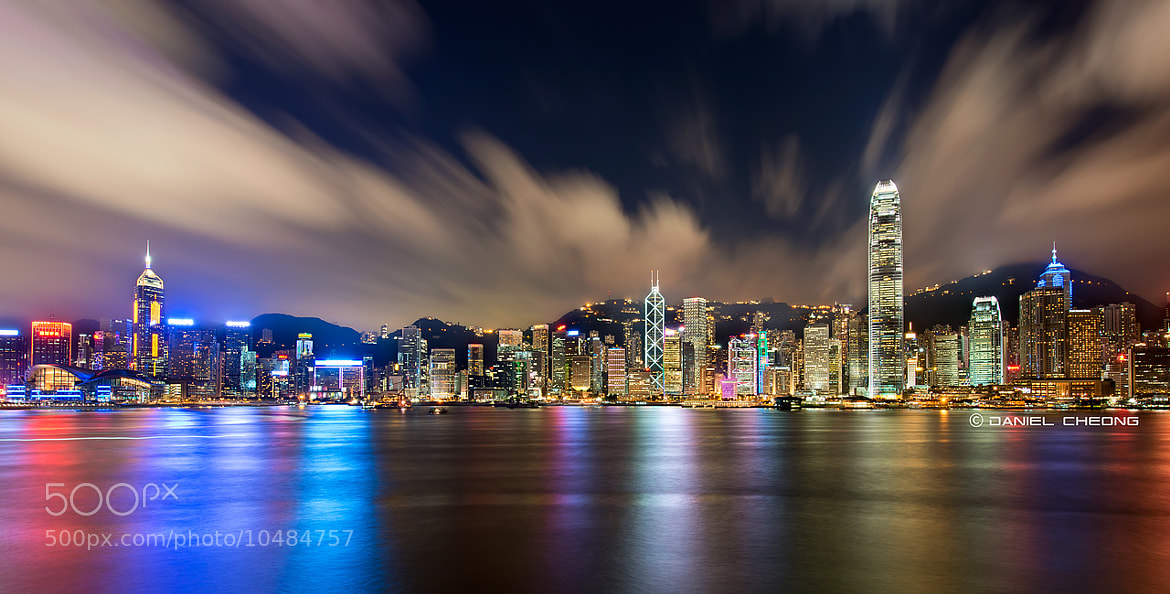 Photograph Hong Kong - 60 sec. by Daniel Cheong on 500px