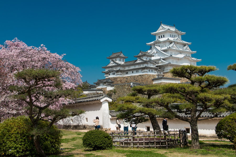 Himeji Castle by Andrew Creahan on 500px.com