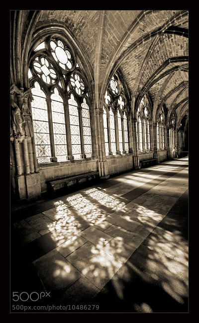 Photograph Cloister of Burgos by Botond Horváth on 500px