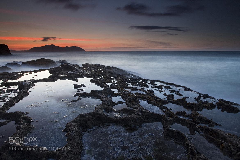 Photograph Udaberriko ilunabarra Sonabia aldean by Andoni Lamborena on 500px