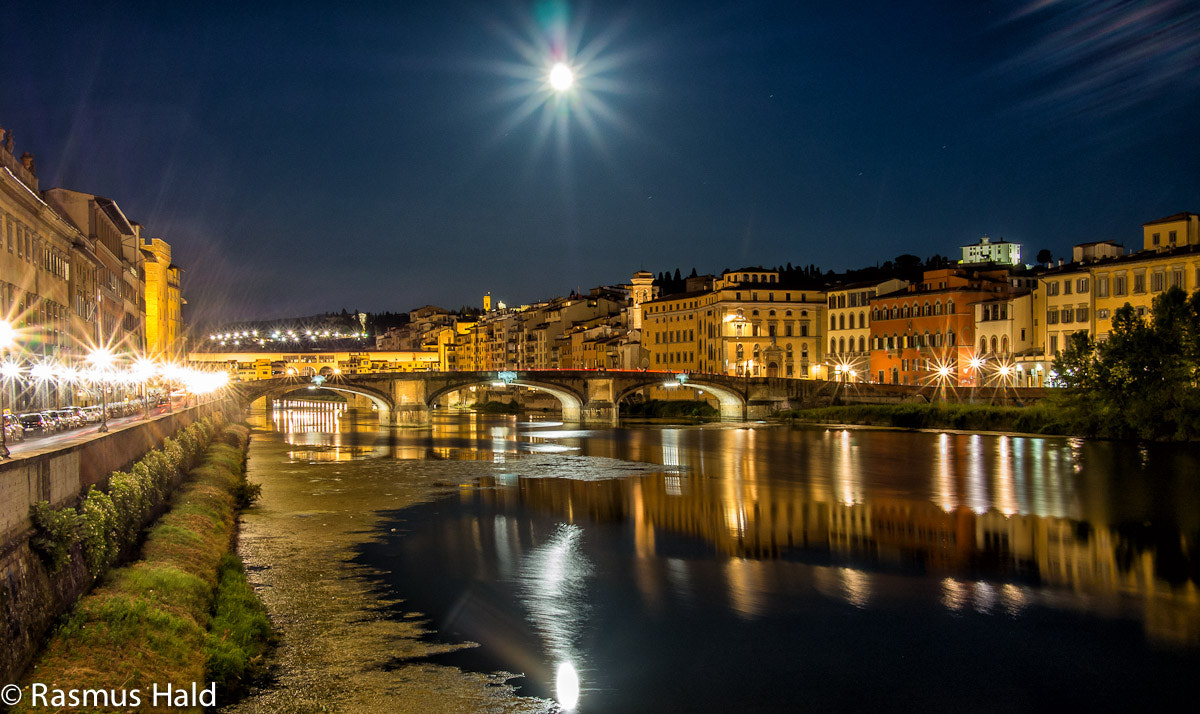 Photograph Florence river scene by Rasmus Hald on 500px