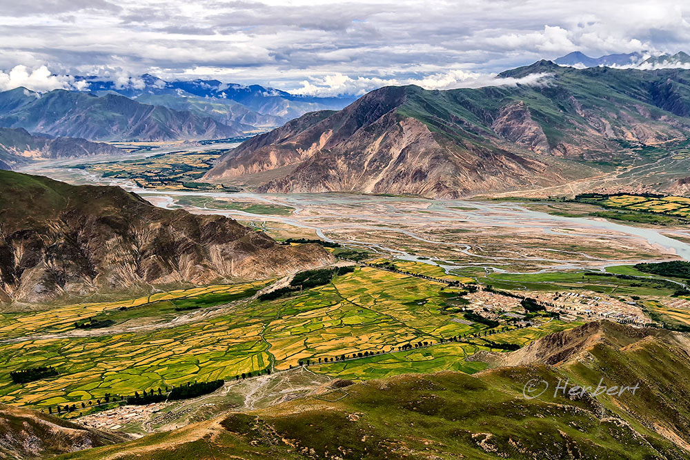 Photograph Lhasa Valley by Herbert Wong on 500px