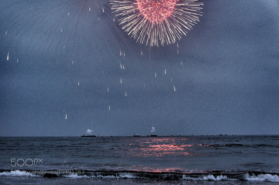 Photograph Fireworks in Kamakura by Dharish David on 500px