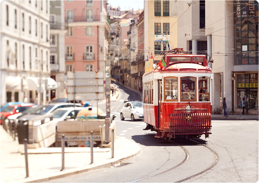 Photograph Red tram. by Nessa  G. on 500px