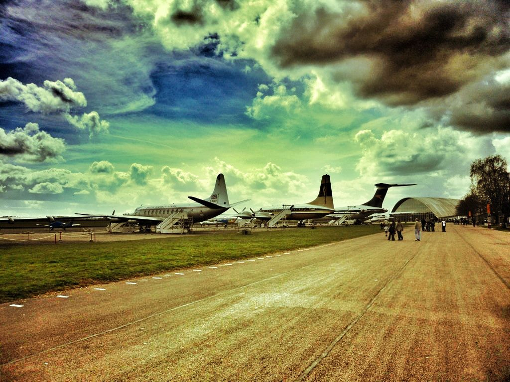 Photograph The Airfield by Lee Milner on 500px
