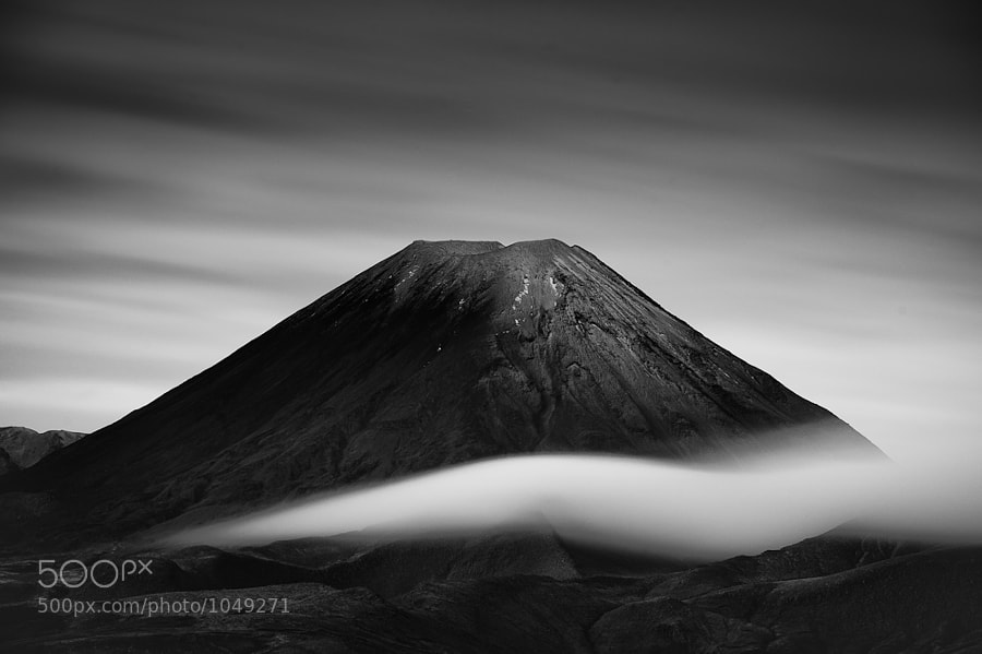 Photograph Mt Ngauruhoe by Mike Hollman on 500px