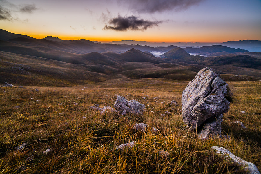 Photograph Morning in Campo Imperatore by Hans Kruse on 500px