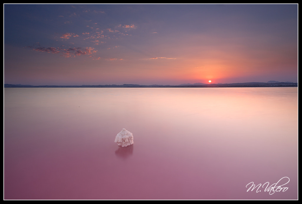 Photograph sunset on the salt by Manolo Valero on 500px