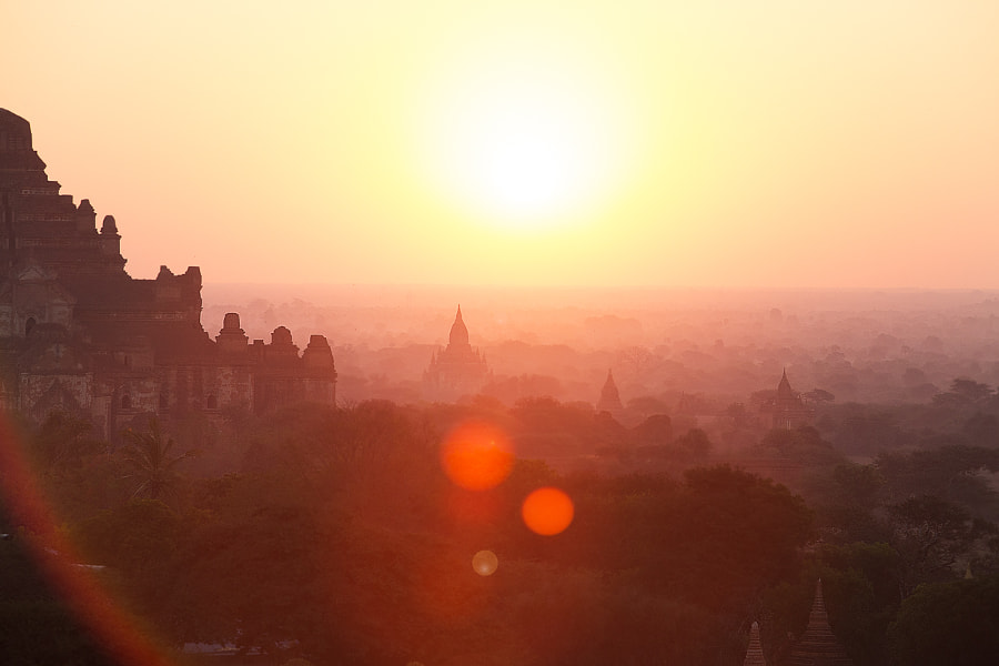 Photograph Bagan by Frank Annatar on 500px