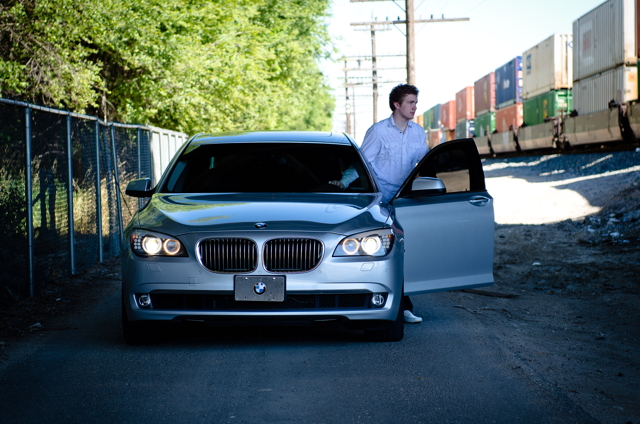 Photograph BMW 750Li by H Sterling Cross on 500px
