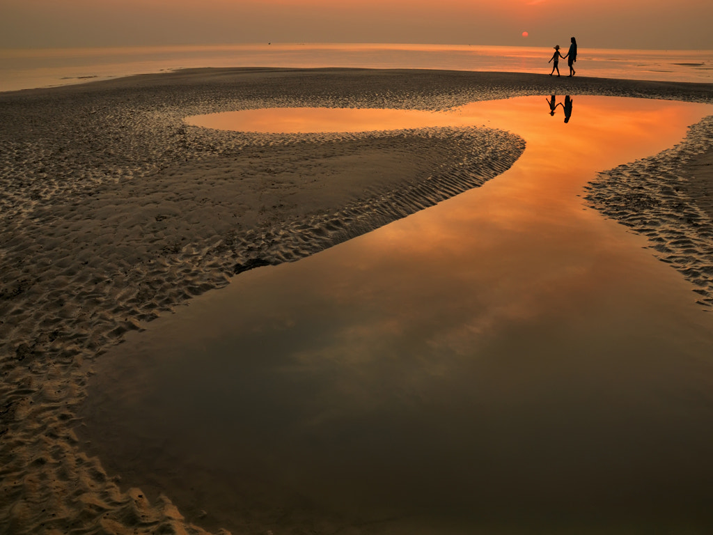 Photograph SUNSET AT GANGASA by Somnath Chatterjee on 500px