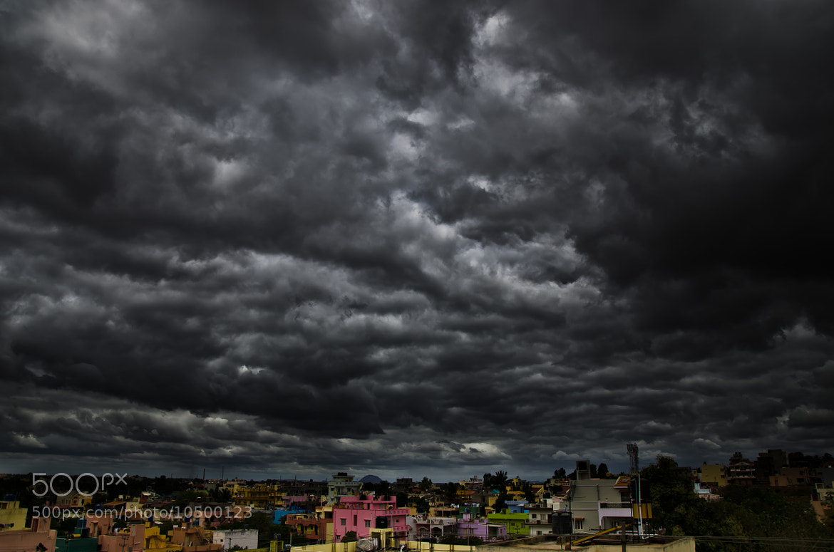 Photograph A Storm Is Coming!! by shankar  joshi on 500px