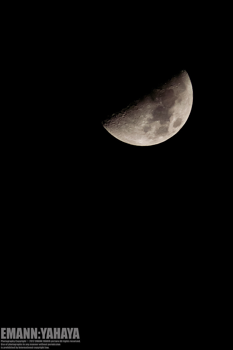 Photograph Moon 26th July 2012 by Emann Yahaya on 500px