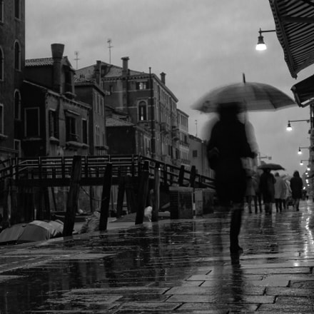 Rainy day in Venice | Sestiere de Castello,