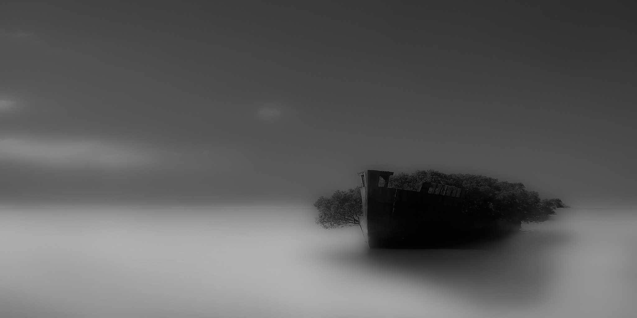 Photograph Ghost Ship by Jong Shin Lee on 500px