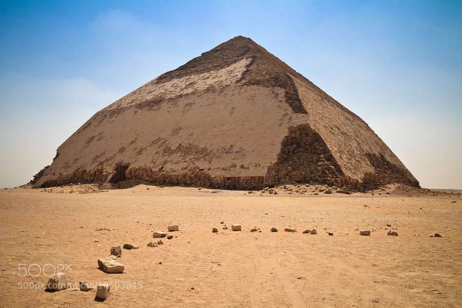 Photograph Pirámide Acodada de Dahshur by Jose Agudo on 500px