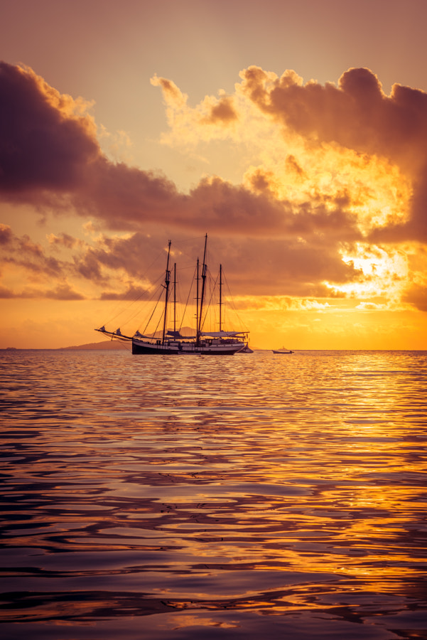 Photograph Recreational Yacht at the Indian Ocean by dvoevnore . on 500px