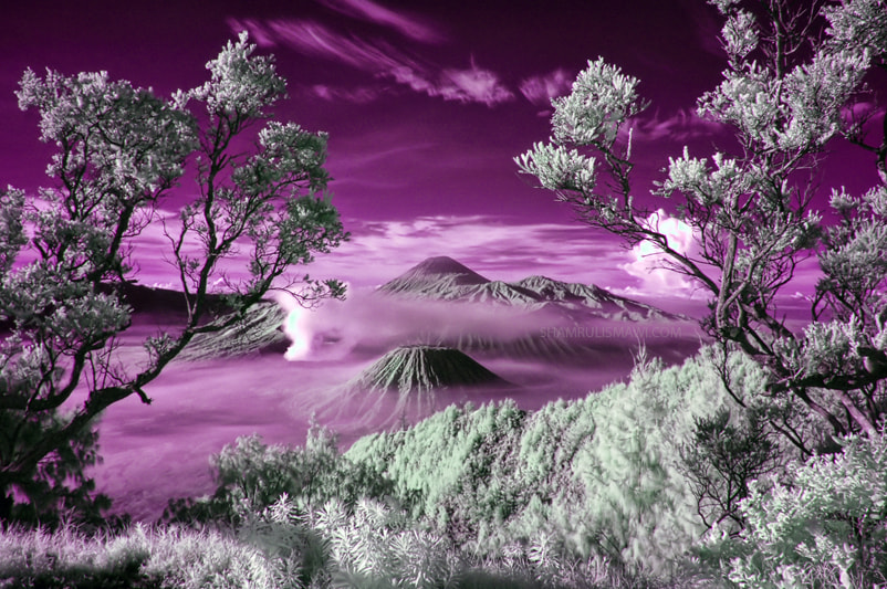 Photograph Mount Bromo in InfraRed by Shamrulismawi Abah on 500px