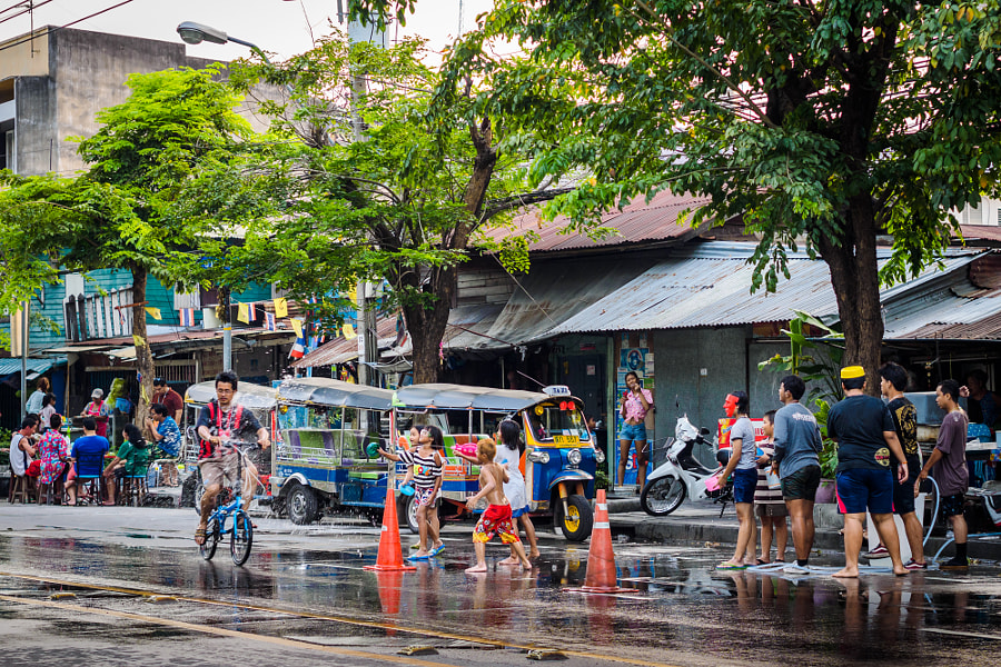 Photograph Songkran 2015 by Jae Park on 500px