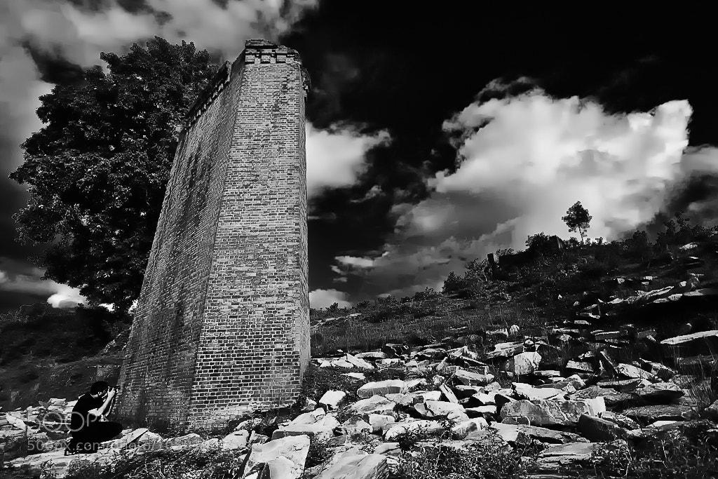 Photograph Pillar on the earth by Min Chai Liu on 500px