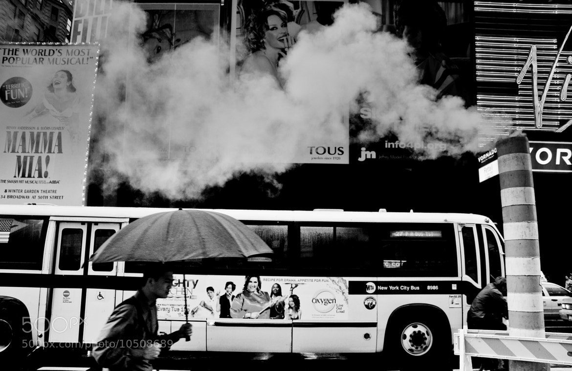Photograph Times Square smoke by Fab William Alexander on 500px