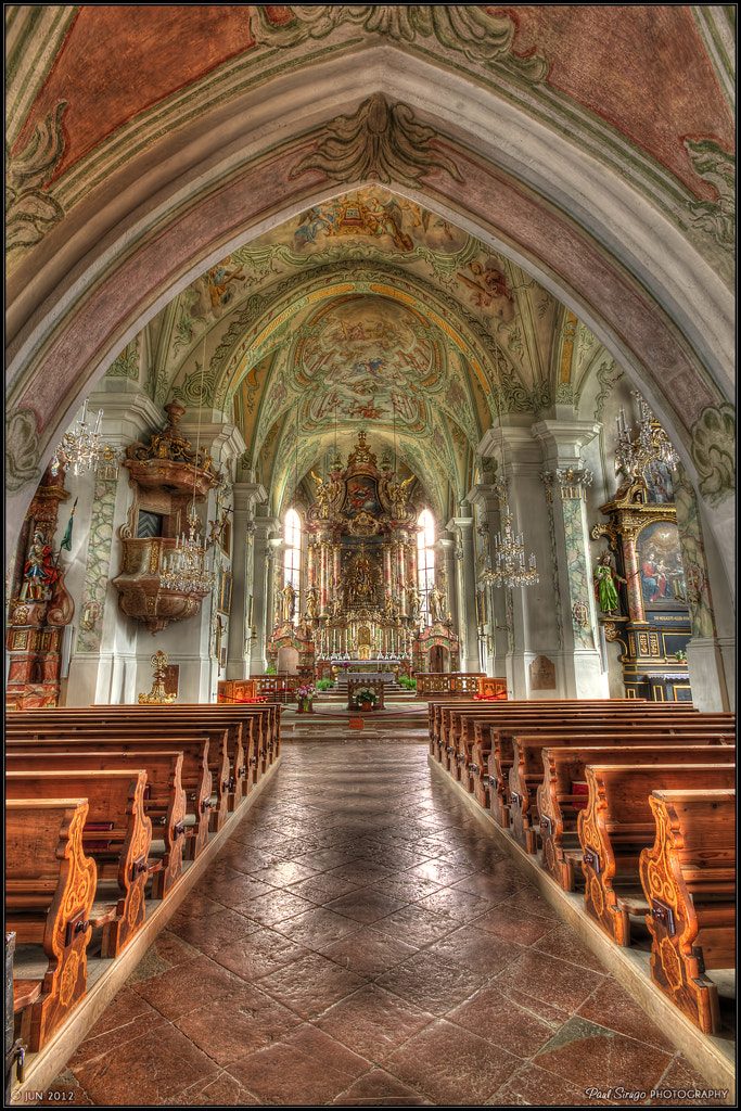 Photograph Maria Alm - the pilgrimage church by Paul Sirugo on 500px