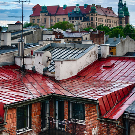Wawel Perspective - After the rain