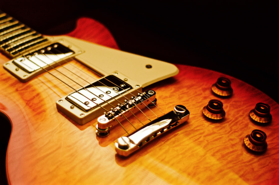 Les Paul Standard by Arkayan Samaddar on 500px.com