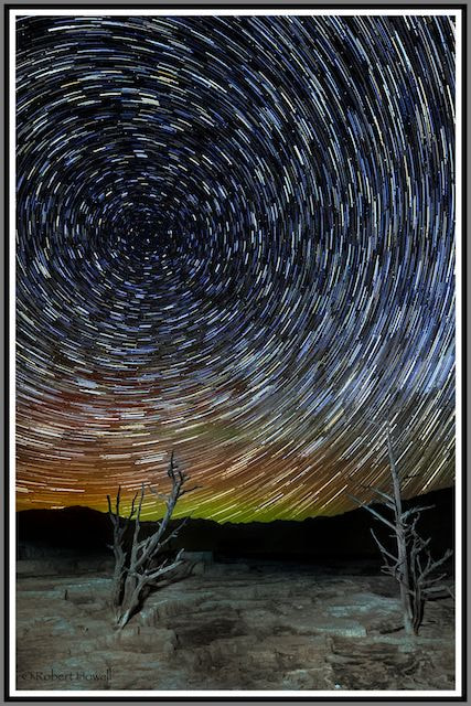 Photograph Night Sky Yellowstone / Vortex by Robert Howell on 500px